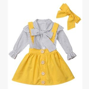 Other - Yellow Suspender Dress (Reserved)